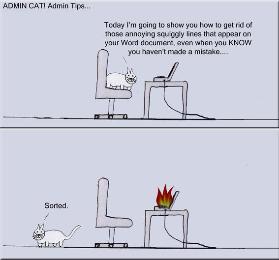 Admin Cat! Admin Tips. (2/2)